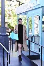 Ana de Armas - Shopping at the Tiffany & Co. at The Grove 01/24/2018