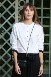Ana Girardot at Chanel Paris Fashion Week, January 2018