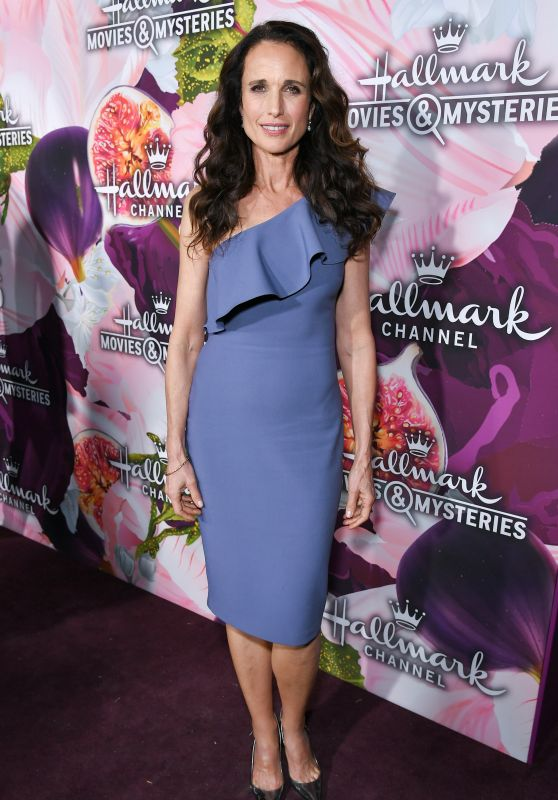 Andie MacDowell – Hallmark Channel All-Star Party at the TCA Winter Press Tour in LA
