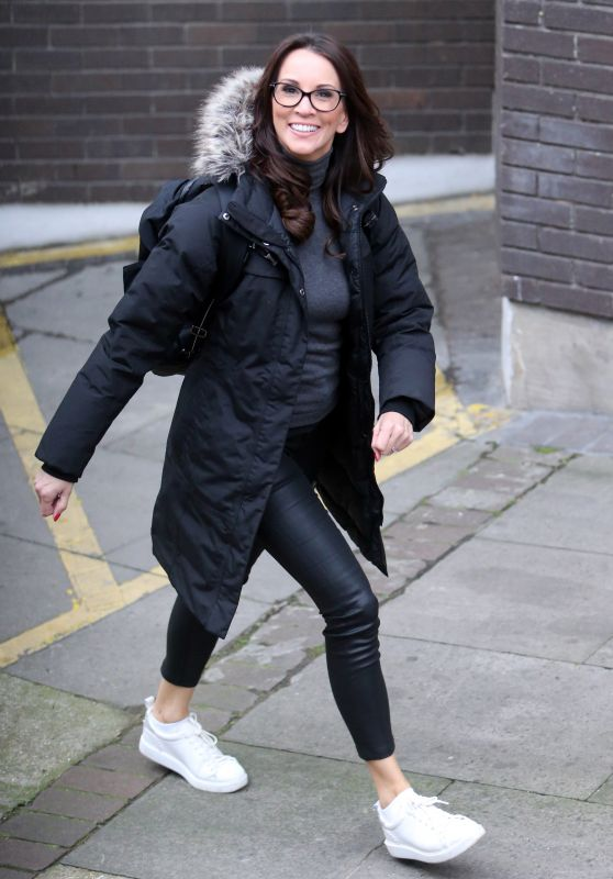 Andrea McLean - ITV Studio in London 01/09/2018