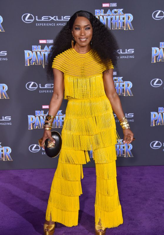 """Angela Bassett – """"Black Panther"""" Premiere in Hollywood"""