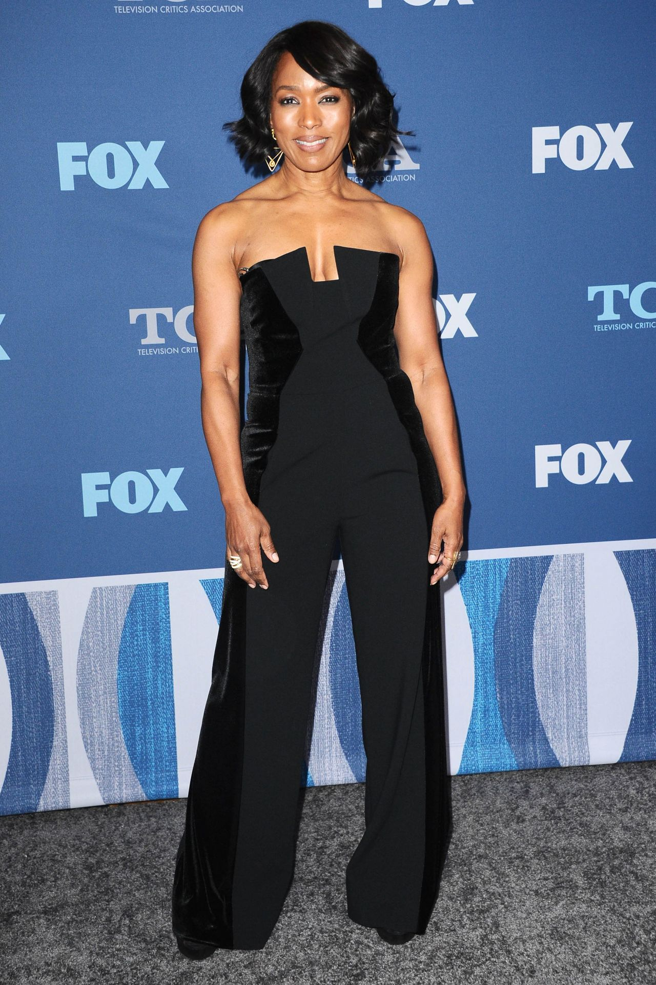 Angela Bassett – Fox Winter TCA 2018 All-Star Party in Pasadena