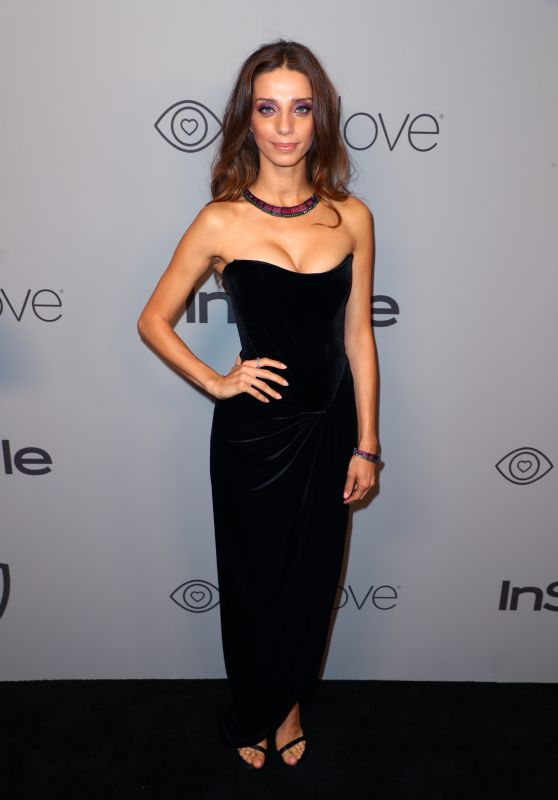 Angela Sarafyan – InStyle and Warner Bros Golden Globes 2018 After Party