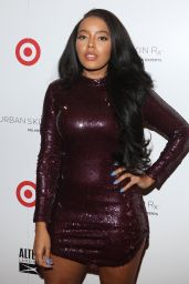 Angela Simmons - Launch of Urban Skin Rx at Target Stores in NYC