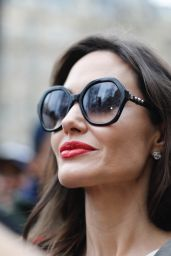 Angelina Jolie - Goes to Guerlain Perfumes Shop on the Champs-Elysées in Paris