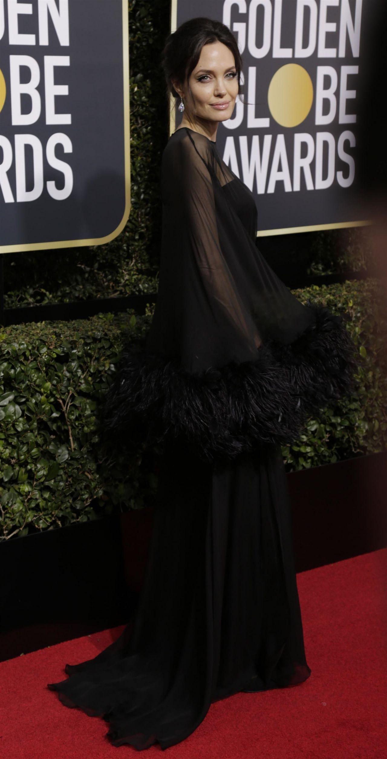 Angelina Jolie – Golden Globe Awards 2018