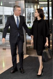 Angelina Jolie - Visit to NATO in Brussels