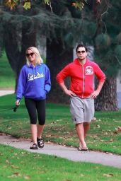 Anna Camp and Skylar Astin in Los Feliz