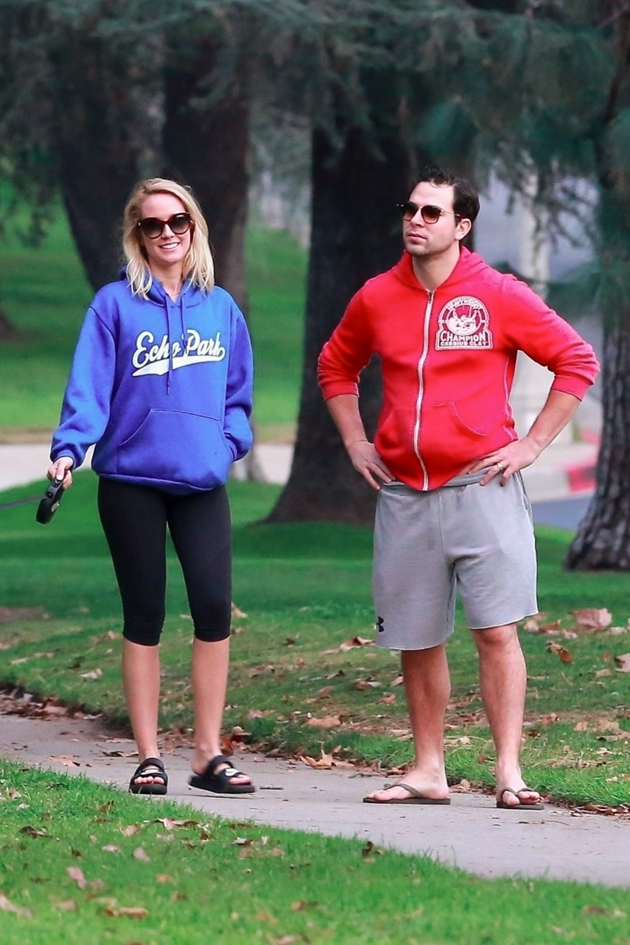 Anna Camp and Skylar Astin in Los Feliz