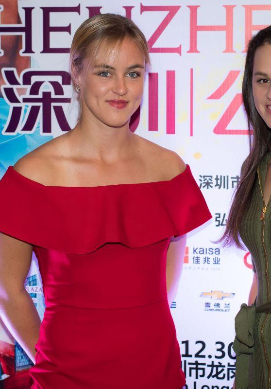 Anna-Karolina Schmiedlova and Jana Cepelova – Players Party of the 2018 Shenzen Open WTA International Open