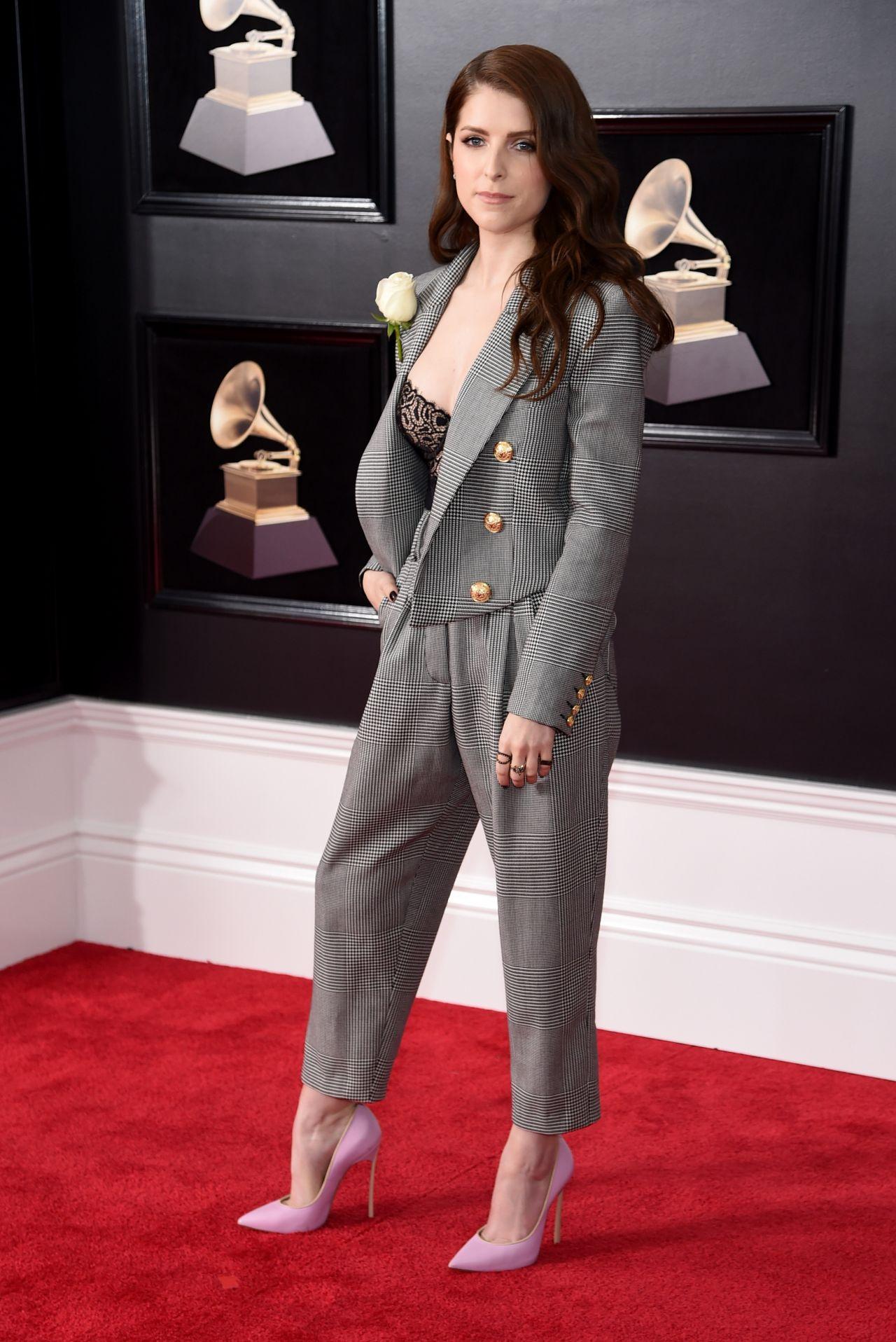 Anna Kendrick 2018 Grammy Awards In New York