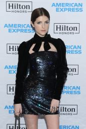 Anna Kendrick - Hilton And American Express Celebrate Launch Of Co-Brand Credit Card Portfolio in NYC