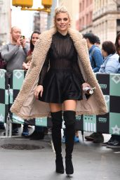 AnnaLynne McCord at BUILD in New York City 01/23/2018