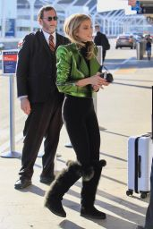 AnnaLynne McCord at LAX in Los Angeles 01/22/2018