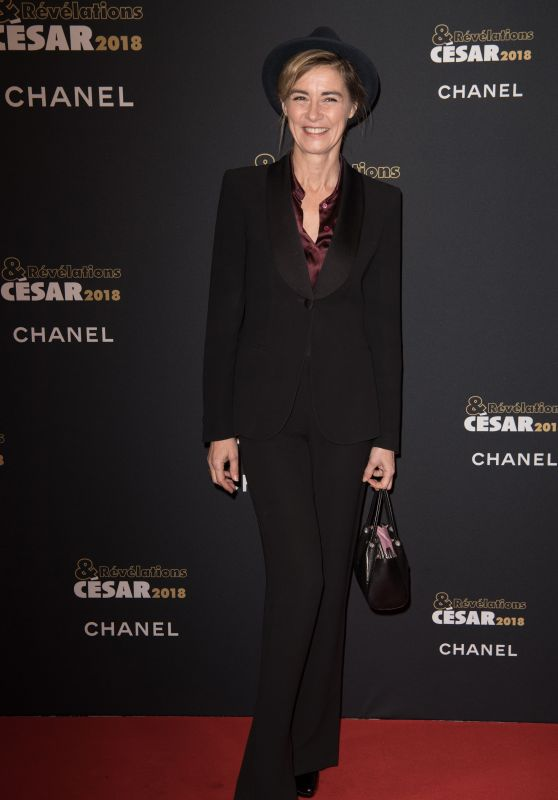 Anne Consigny – Cesar Revelations 2018 Party
