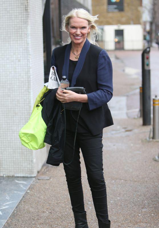 Anneka Rice - Outside ITV Studios in London