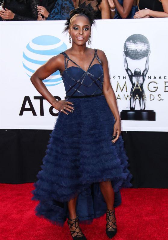 Antoinette Robertson – 2018 NAACP Image Awards in Pasadena