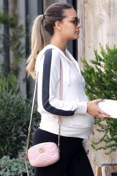 April Love in Workout Gear Out in Malibu