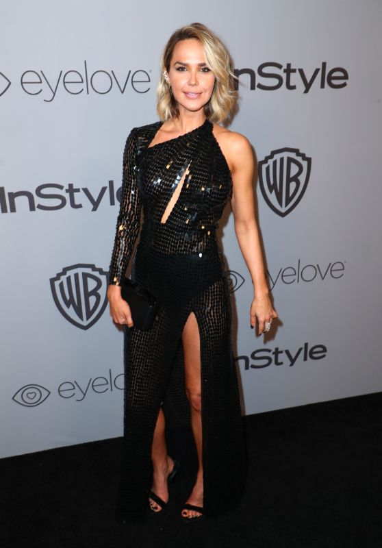 Arielle Kebbel – InStyle and Warner Bros Golden Globes 2018 After Party