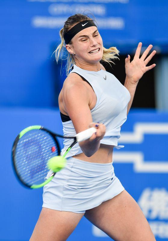Aryna Sabalenka – 2018 Shenzen WTA International Open in Shenzen