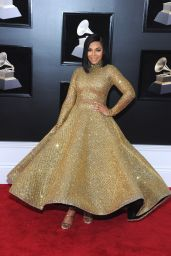 Ashanti – 2018 Grammy Awards in New York