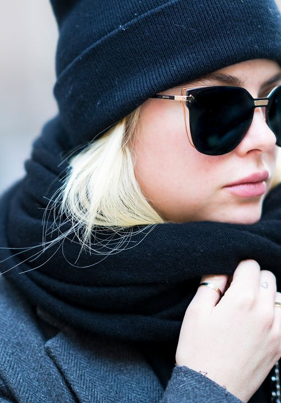 Ashley Benson - Wearing Prive Revaux Sunglasses in Tribeca