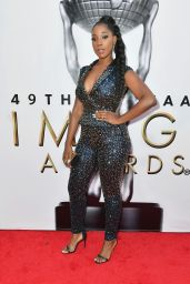 Ashley Blaine – 2018 NAACP Image Awards in Pasadena