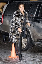 Ashley Graham - Arriving at The Daily Show With Trevor Noah in NYC