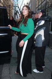 Ashley Graham at BUILD Series in New York City 01/24/2018