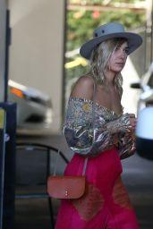 Ashley Hart Celebrating Australia Day at E.P. & L.P. Restaurant in Los Angeles
