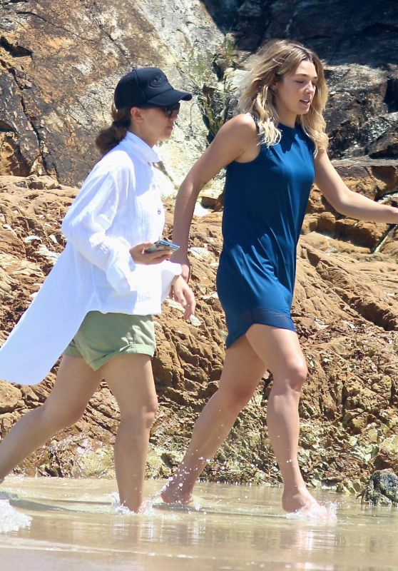 Ashley Hart - Photoshoot on the Beach in Byron Bay