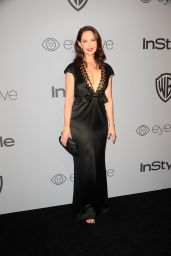 Ashley Judd – InStyle and Warner Bros Golden Globes 2018 After Party