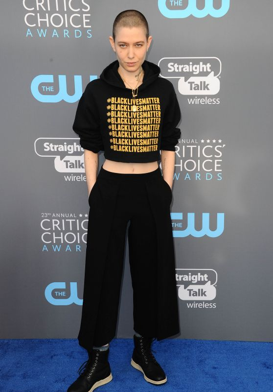 Asia Kate Dillon – 2018 Critics' Choice Awards