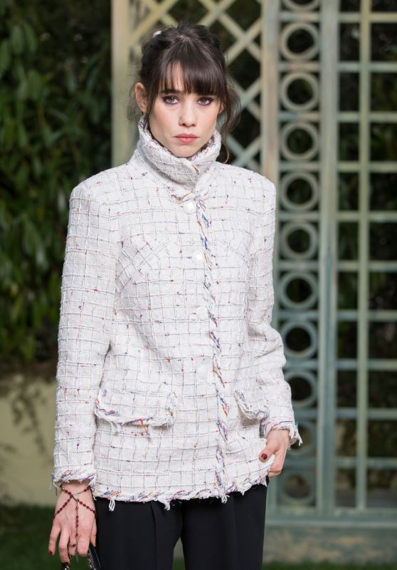 Astrid Berges-Frisbey at Chanel Paris Fashion Week, January 2018