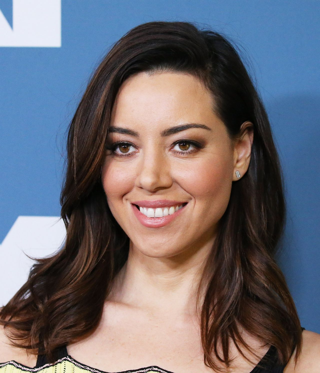 Aubrey Plaza 2018 Winter Tca Tour Fx Starwalk In Pasadena