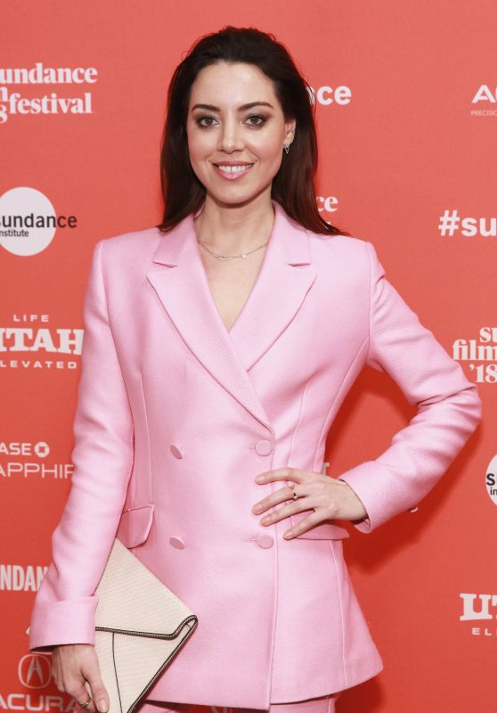 "Aubrey Plaza - ""An Evening With Beverly Luff Linn"" Premiere in Park City"