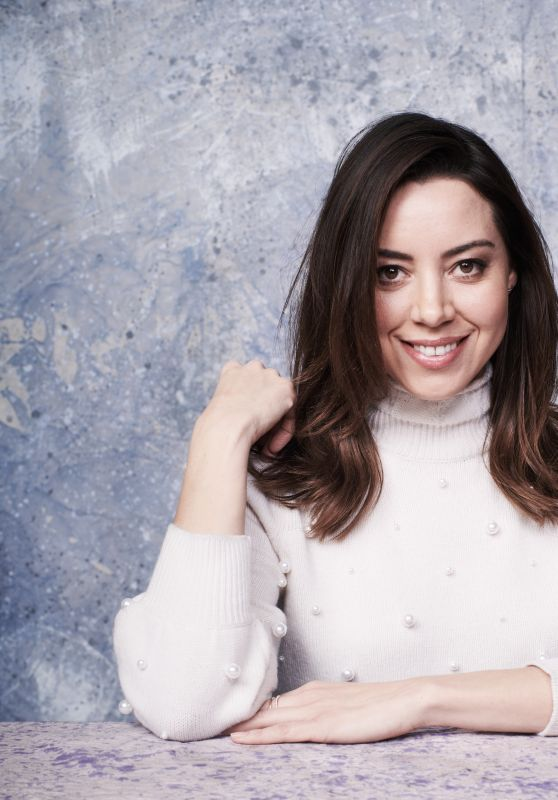 Aubrey Plaza – Deadline Studio Portraits at Sundance 2018 in Park City