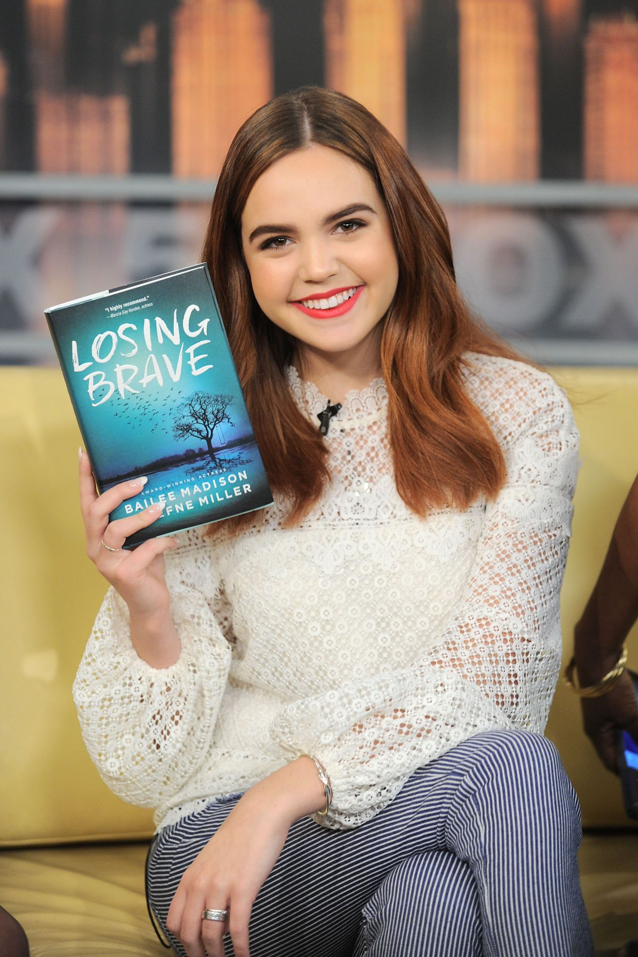 Bailee Madison Appeared On Good Day New York In Nyc 01 31 2018