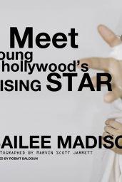 "Bailee Madison - POPULAR x Wildfox: ""Ones to Watch 01/25/2018"