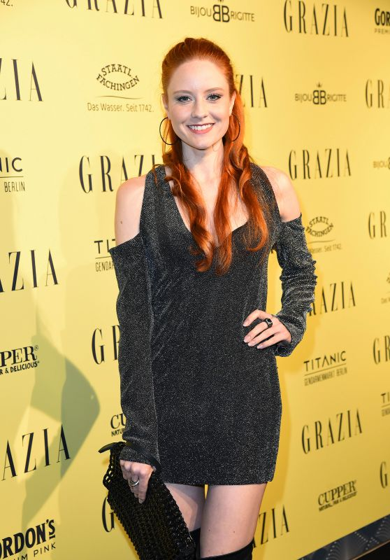 Barbara Meier at GRAZIA Fashion Dinner in Berlin