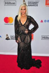 Bebe Rexha – Clive Davis and Recording Academy Pre-Grammy Gala in NYC