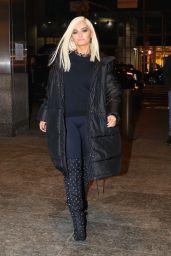 Bebe Rexha is Arriving to Nobu in New York City
