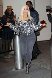 Bebe Rexha - Leaving TRL Studios in NYC