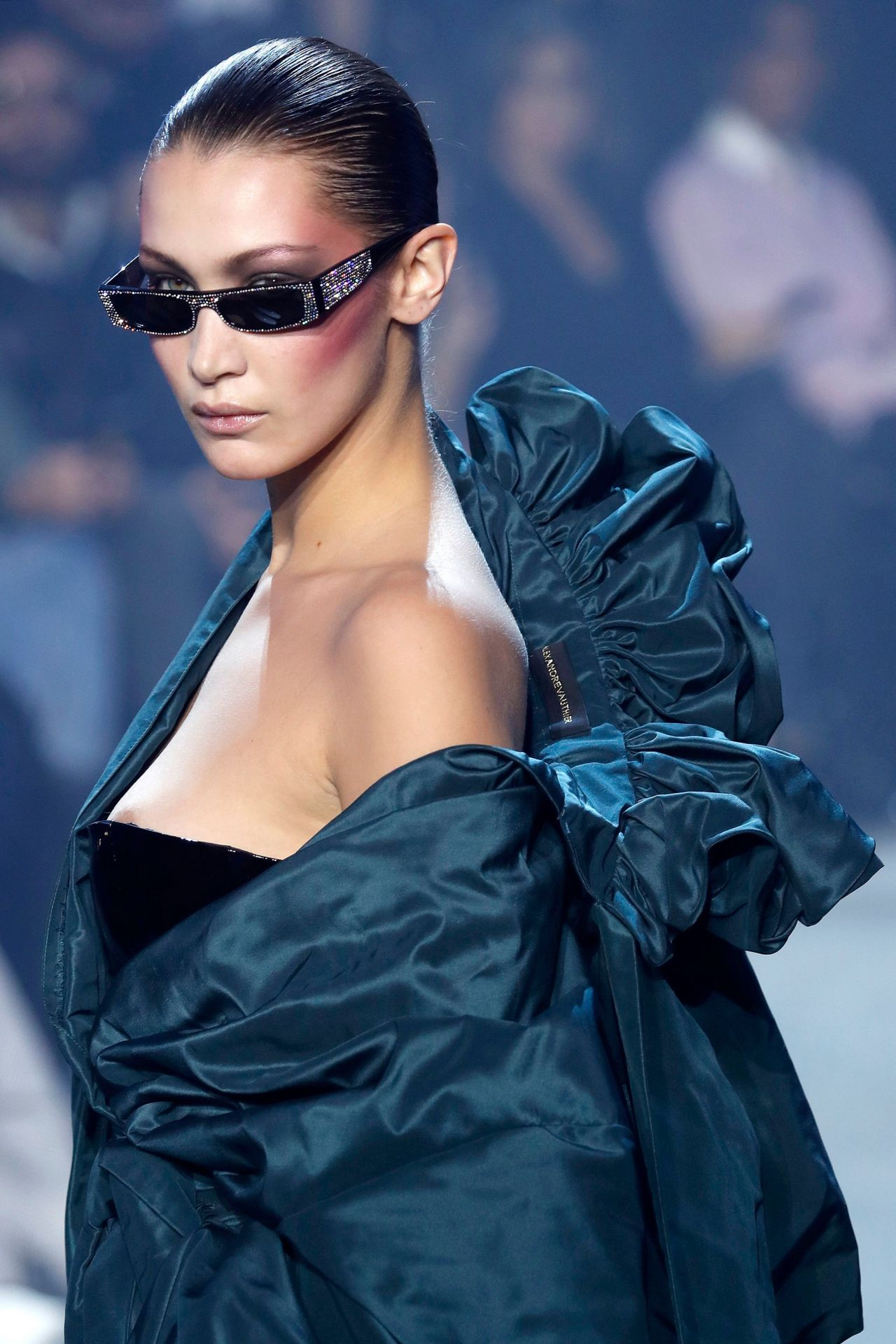 Bella Hadid Alexandre Vauthier Fashion Show In Paris 01 23 2018