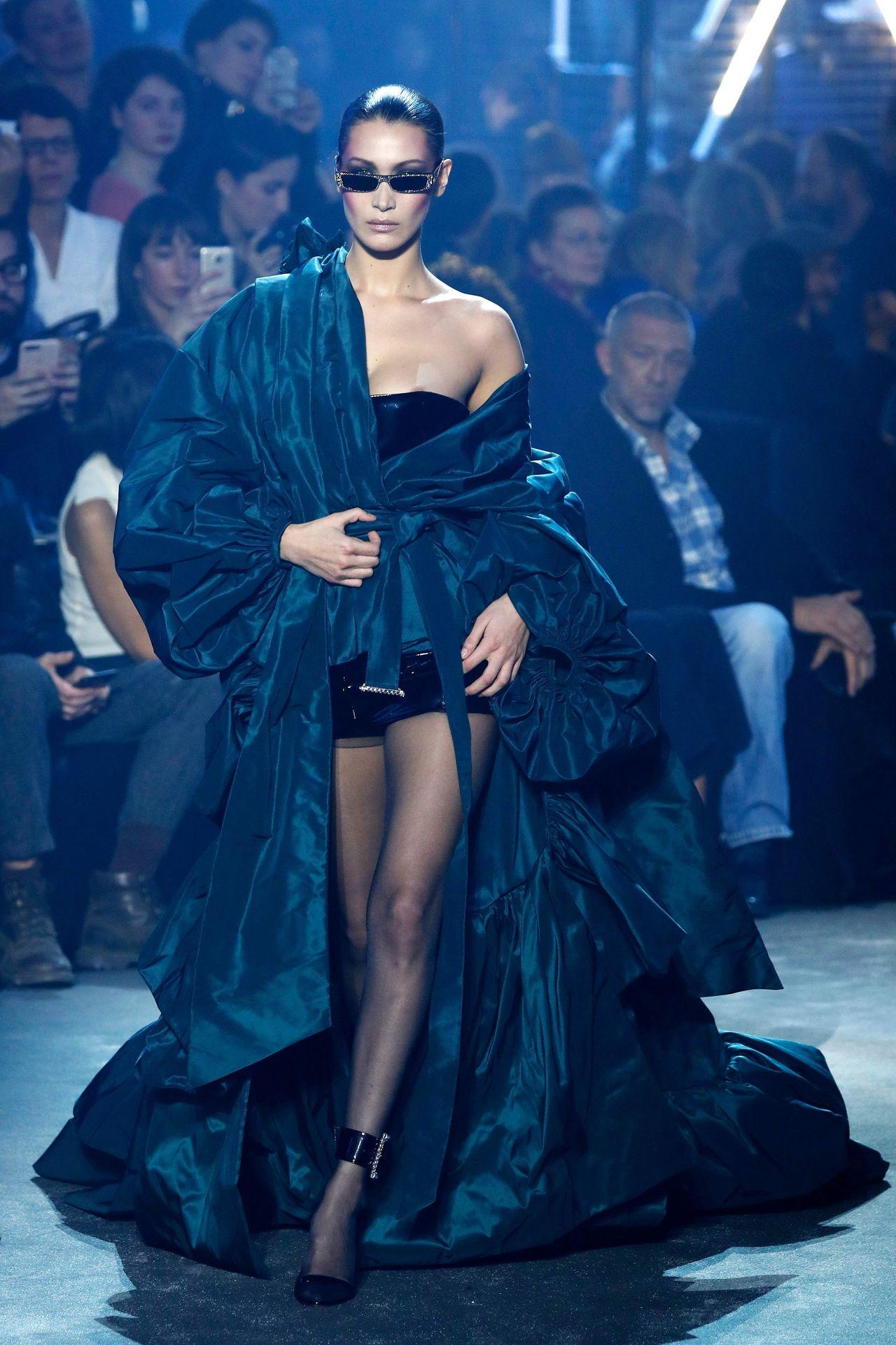bella paris hadid week couture alexandre vauthier spring haute summer areola peek fappening january hawtcelebs