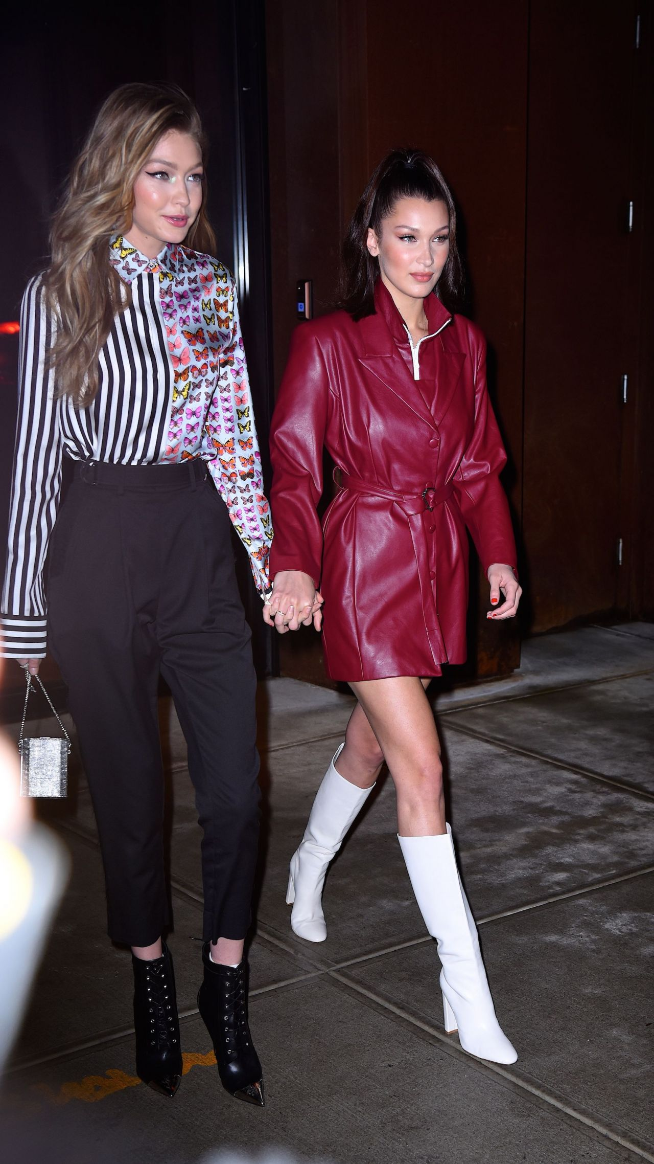 Bella Hadid And Gigi Hadid Out In New York City 01 11 2018