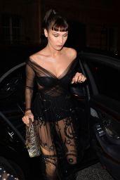 Bella Hadid - Christian Dior Afterparty in Paris 01/22/2018