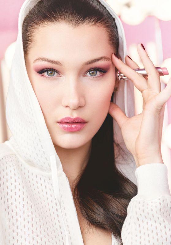 Bella Hadid - Dior Makeup Photoshoots 2018
