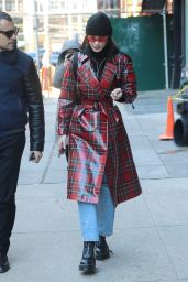 Bella Hadid in NoHo, New York 01/31/2018