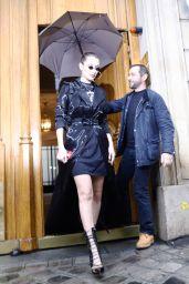 Bella Hadid is Stylish - Paris 01/22/2018